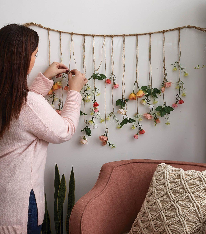 flower wall décor
