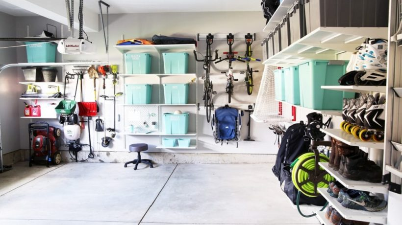 How to organize a messy garage?