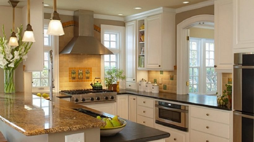 Design tips to make your small kitchen look more spacious