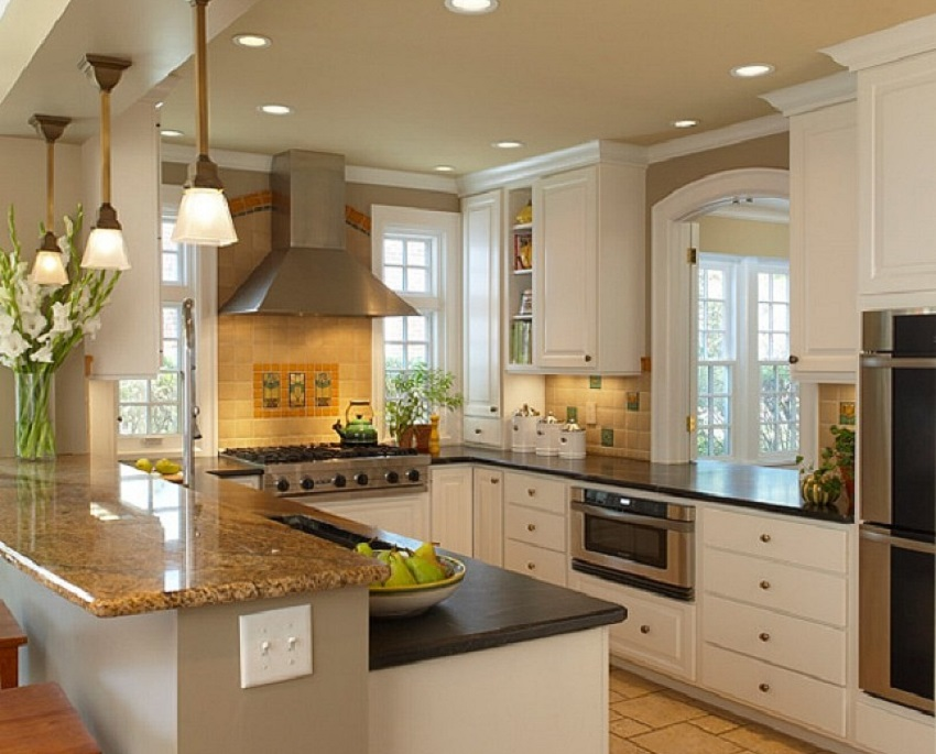 kitchen look more spacious